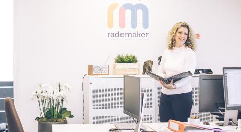 Rademaker. Werkt. Contact